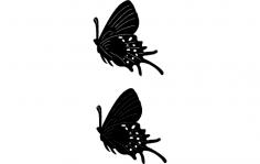 Butterflies10 dxf File