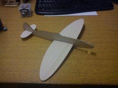 Balsa Spitfire Glider 2 6mm DXF File