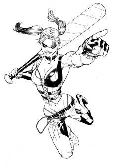 Harley Quinn Free Vector
