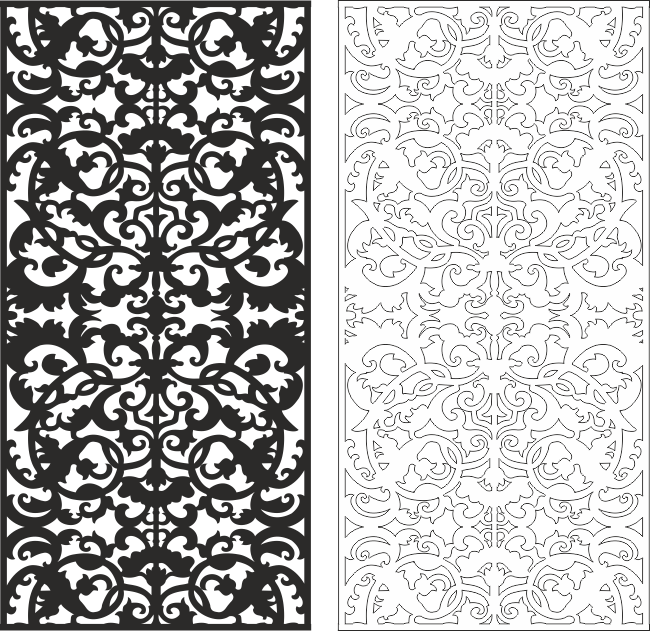 Floral Seamless Pattern CDR File