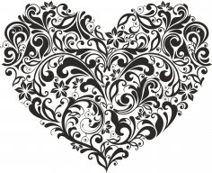 Ornament Heart Free Vector