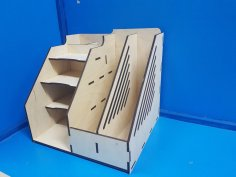 Lasercut Desk Organizer For Office