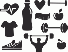 Fitness Vector Set Free Vector
