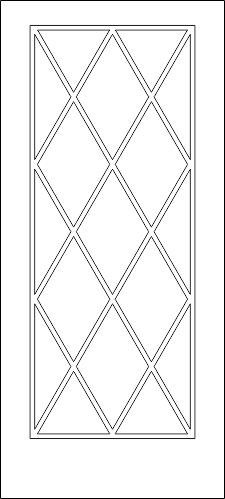 Interior Door Design DWG File