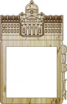 Laser Cut Photo Frame Dublin DXF File