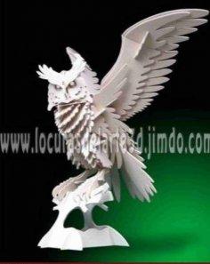 Owl 3D Wooden Puzzle