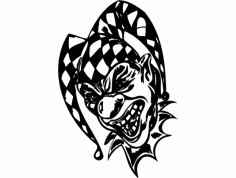 Clown 050 dxf File