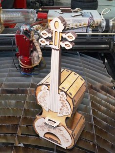 Laser Cut Violin DXF File