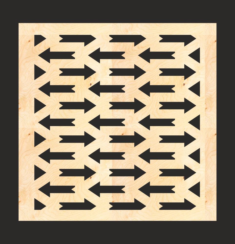 MDF Decorative Screen Panel Pattern Free Vector