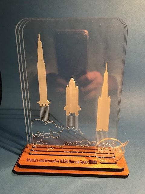 Laser Cut Rocket Coasters Template SVG File