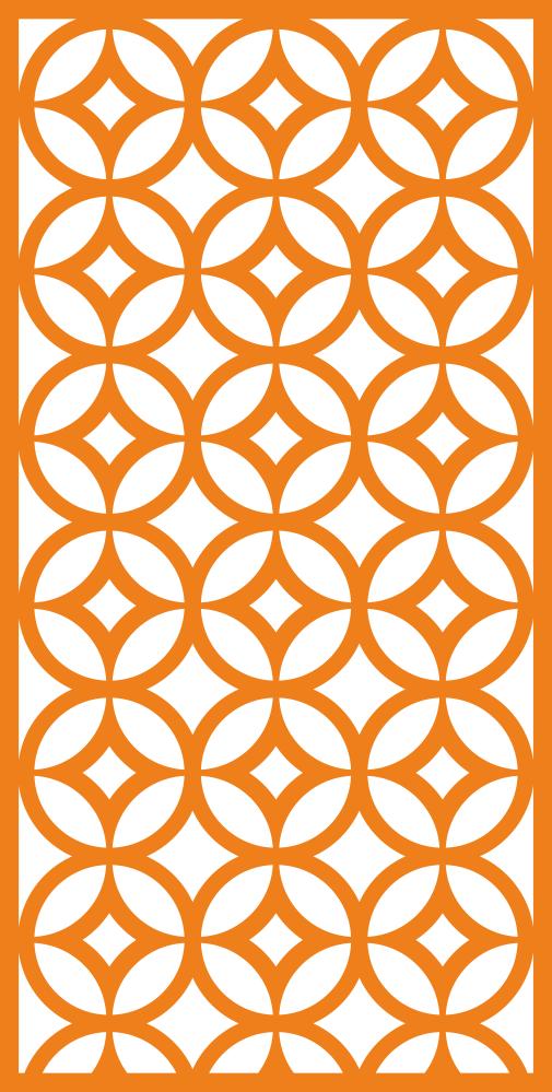 Geometric Ornament Pattern Free Vector