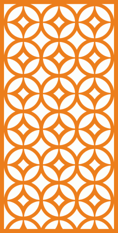 Geometric Ornament Pattern Free Vector