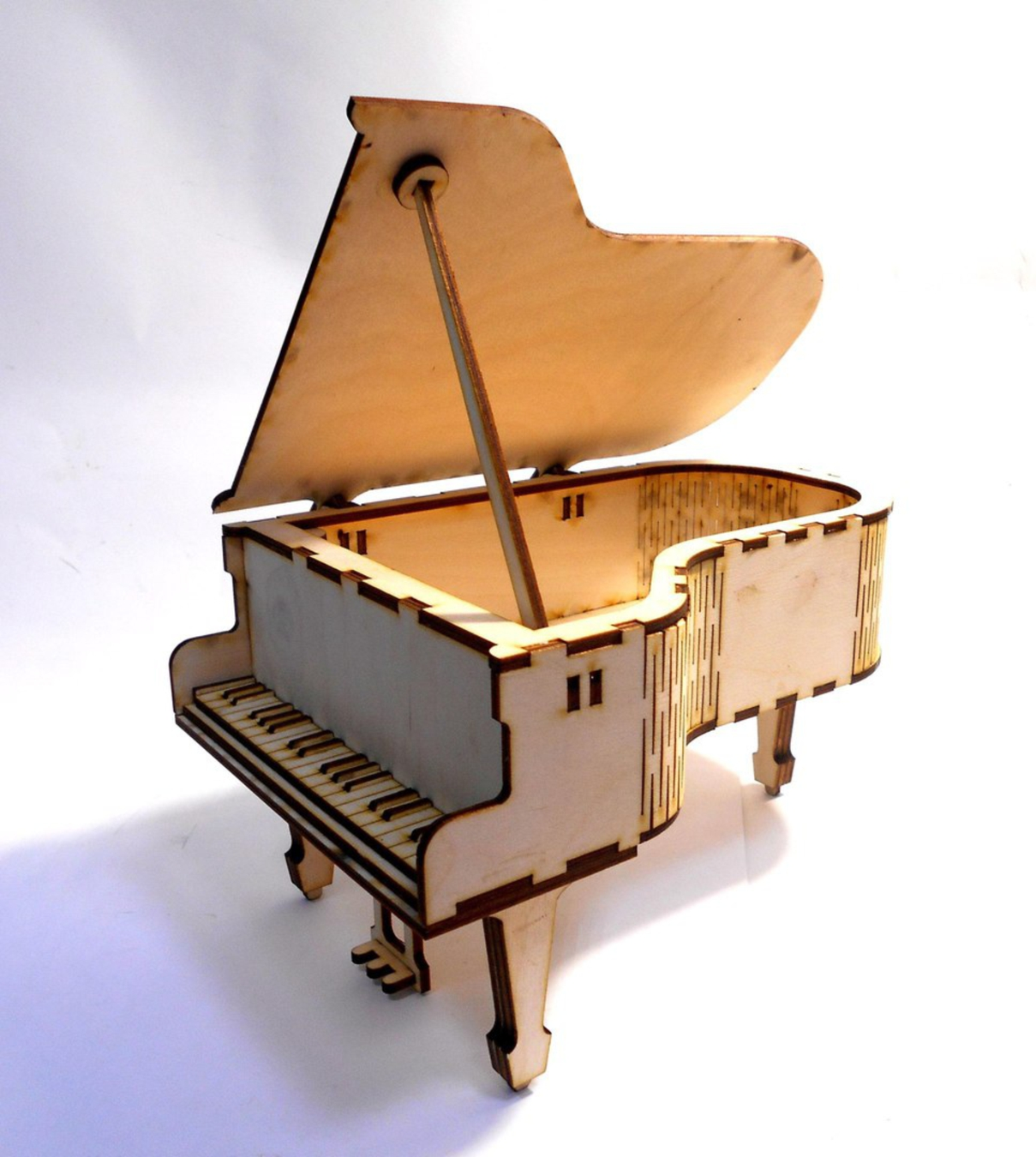 Laser Cut Piano Musical Toys For Kids Free Vector