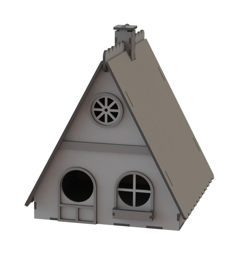 Laser Cut Wooden Nest Box Birds House Birds Shelter Free Vector