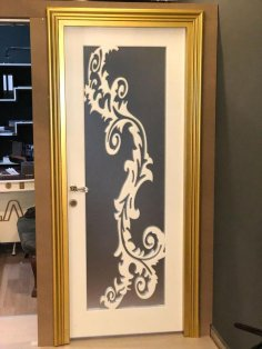 Door Design Decor DXF File
