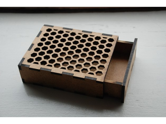 Laser Cut Box Free Vector