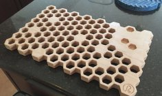 Laser Cut Wooden Hot Pot Stand Kitchen Decor Hot Pot Holder Trivet Free Vector