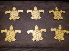 Laser Cut Turtle SVG File