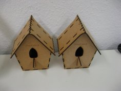 Laser Cut Cuckoo Birdhouse 3mm Free Vector