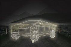 Tesla Cybertruck DXF File