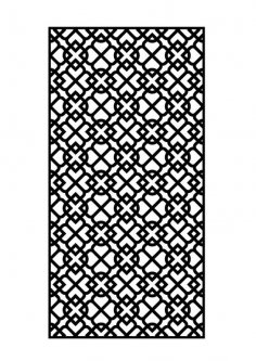 laser cut metal panel dxf File