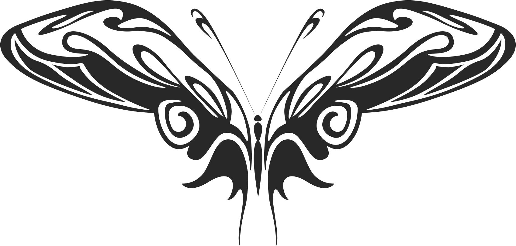 Butterfly Vector Art 015 Free Vector