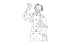 zombie-target dxf File