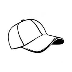 Baseball Cap dxf File