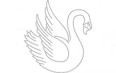 Swan dxf File
