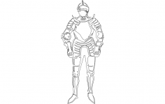 Knight dxf File