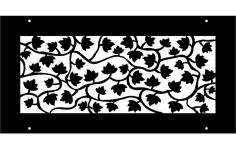 Vine pattern dxf File