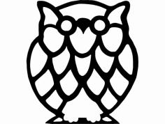 Buho Owl dxf File