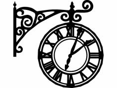 relógio Romano dxf File