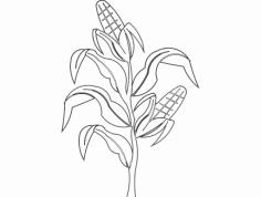 Corn dxf File