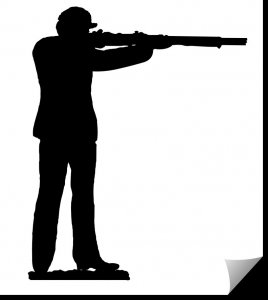 Soldier with Rifle – firing dxf file