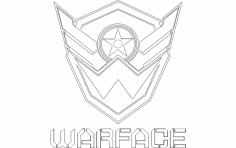 Warface dxf File