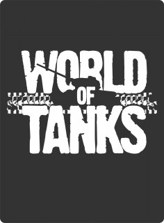 World Of Tanks Stencil Art Vector CDR File