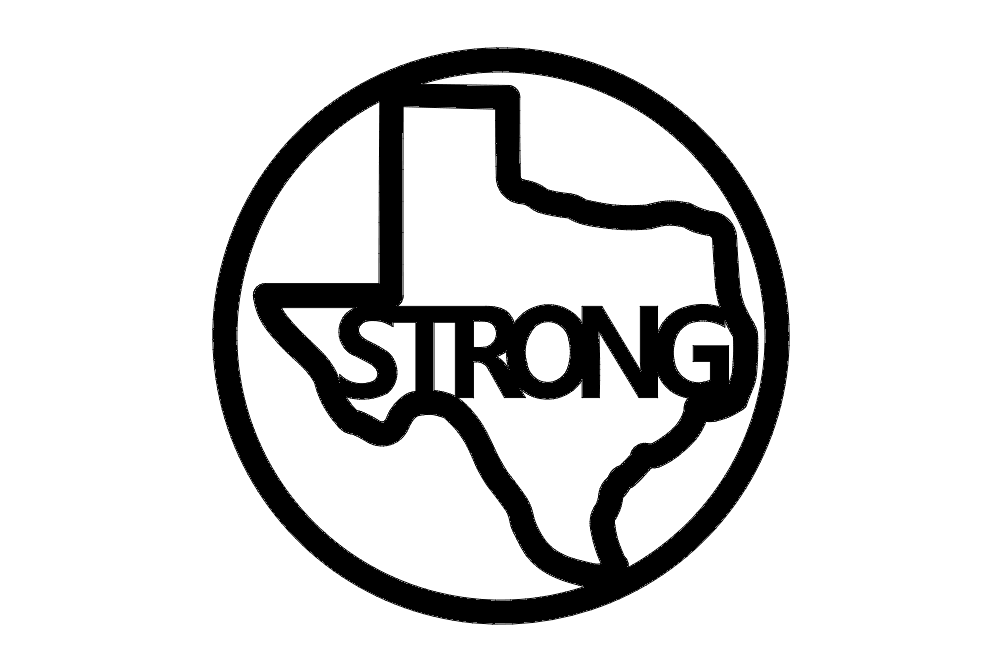 Texas Strong dxf File