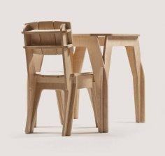 Bar Table Chair Laser Cut CNC Plans PDF File