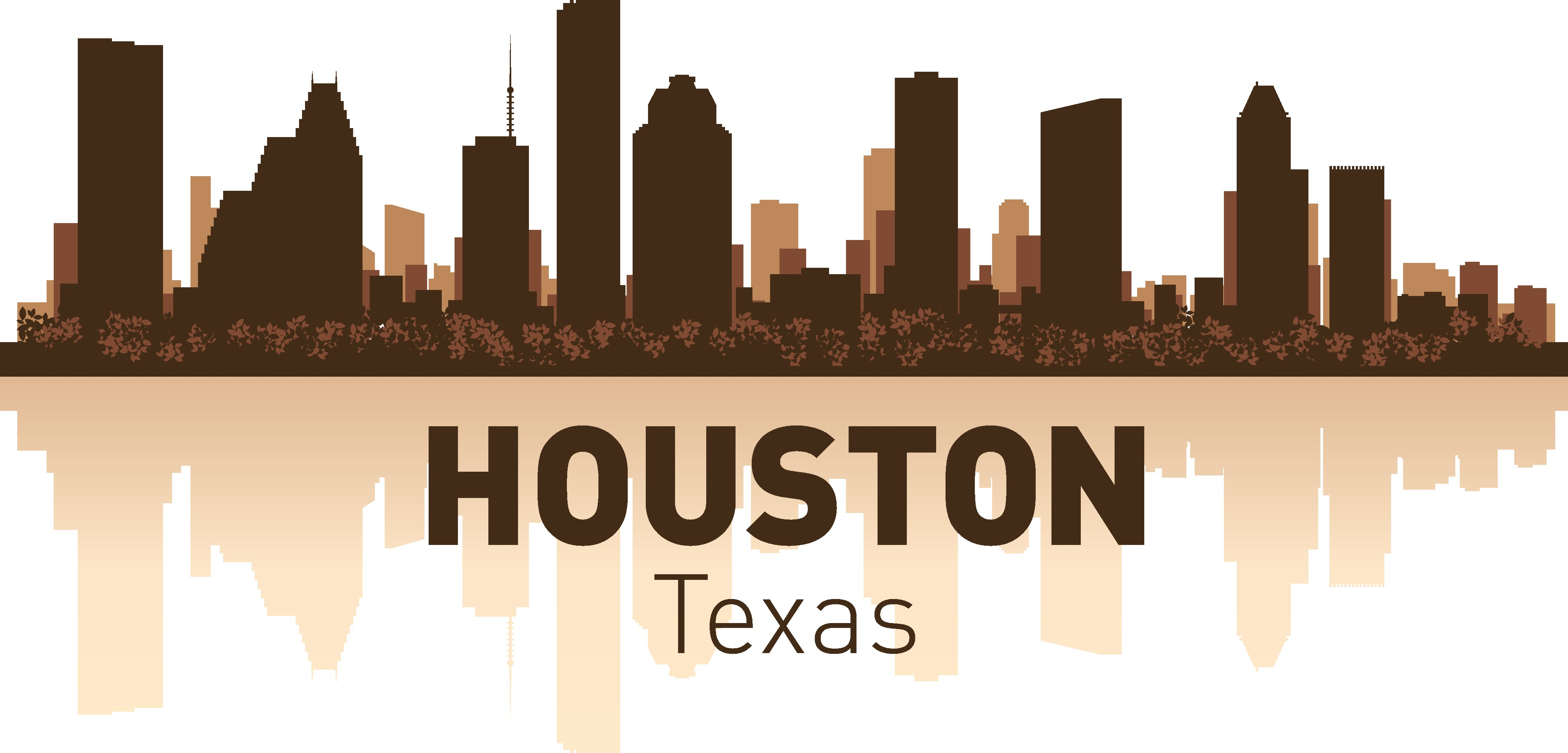 Houston Skyline Free Vector