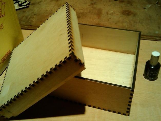 Small Box DXF File