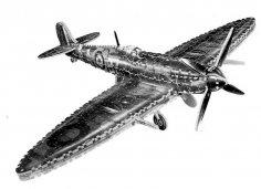 Supermarine Spitfire 3D Puzzle PDF File