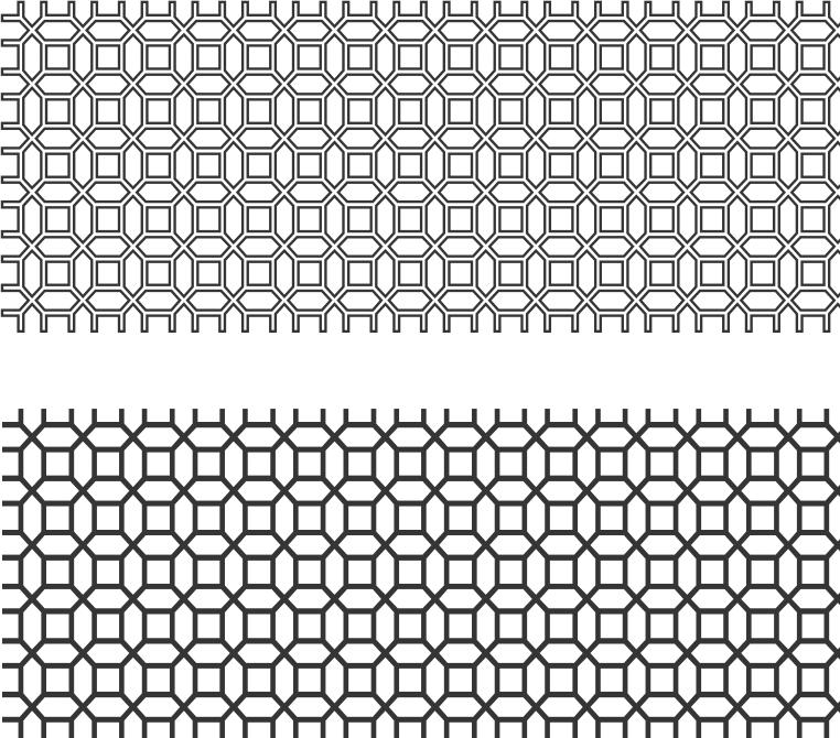 Screen Panel Pattern Free Vector