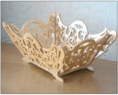 Scroll Saw Basket PDF File