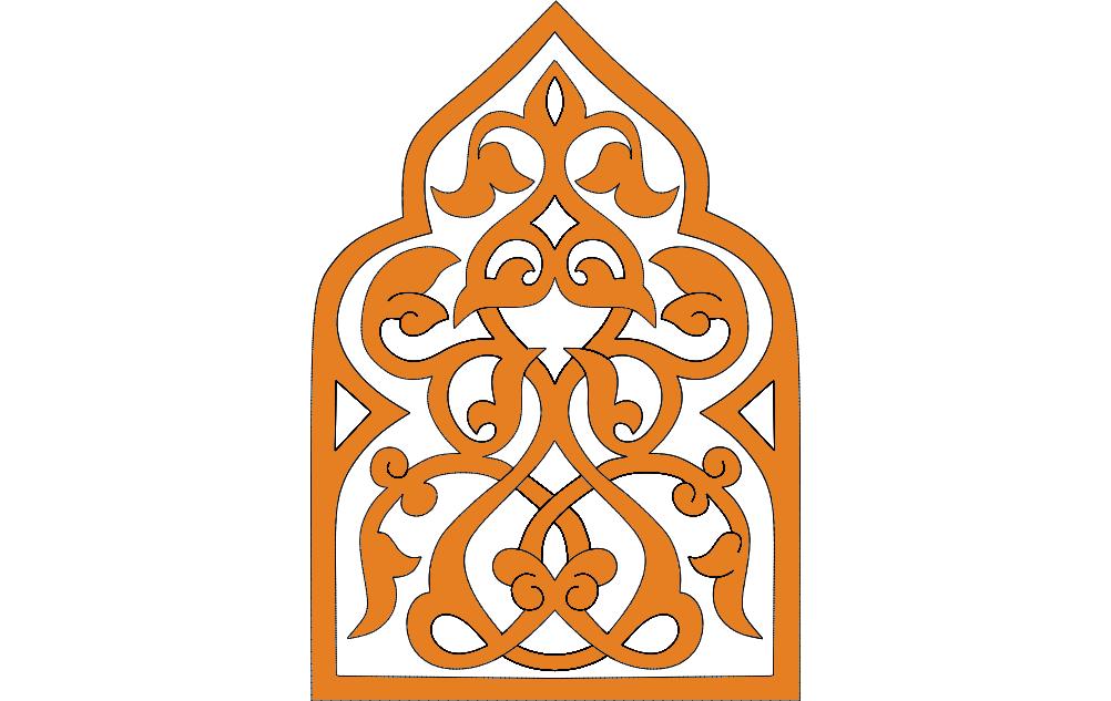 Turkish Ornament dxf File