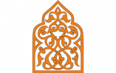 Turkish Ornament dxf File