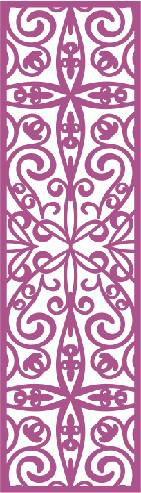 Laser Cut Vector Panel Seamless 162
