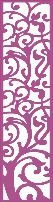 Laser Cut Vector Panel Seamless 188 CDR File