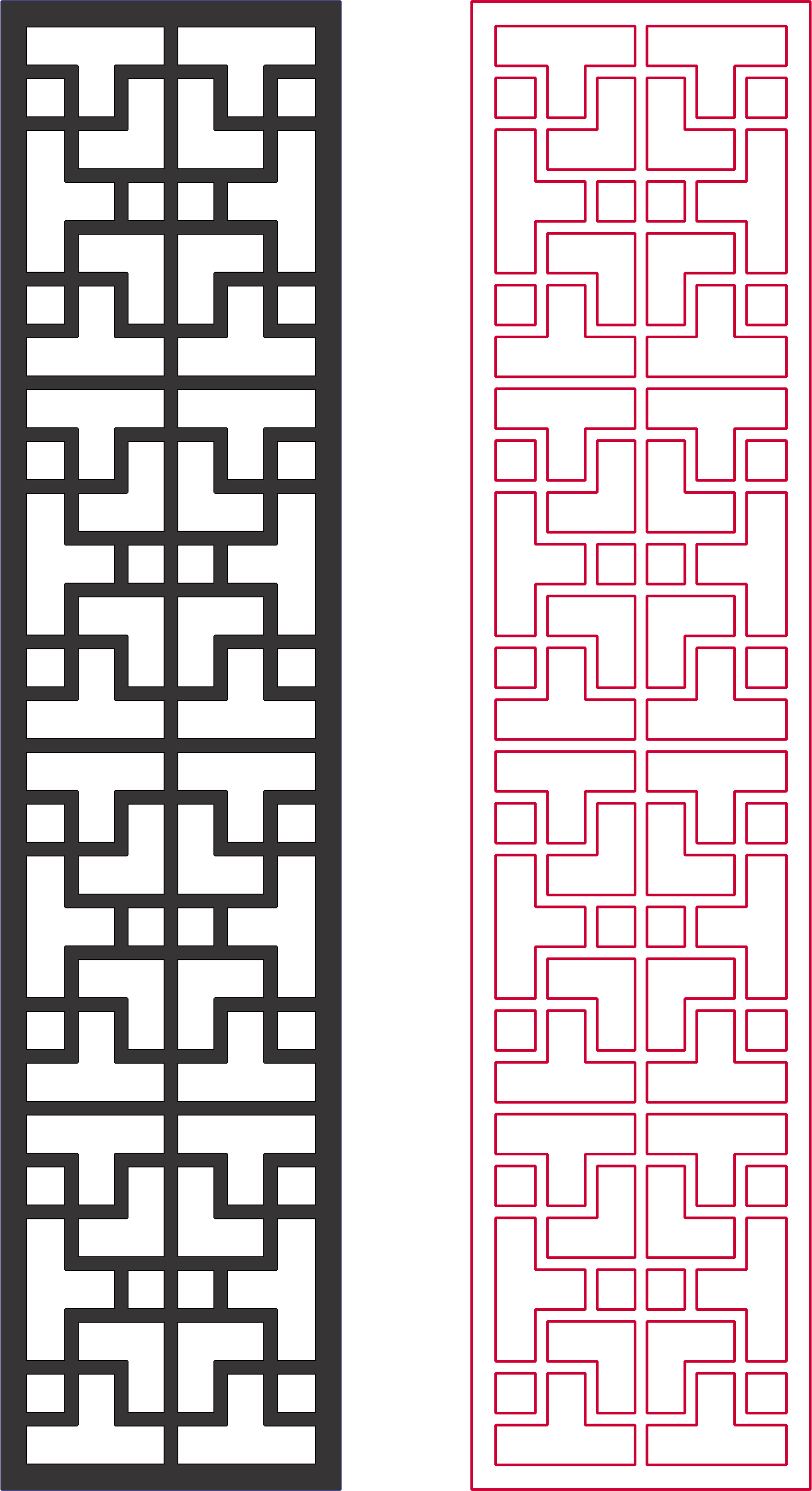 Dxf Pattern Designs 2d Grille DXF File