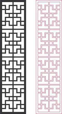 Dxf Pattern Designs 2d Grille DXF File